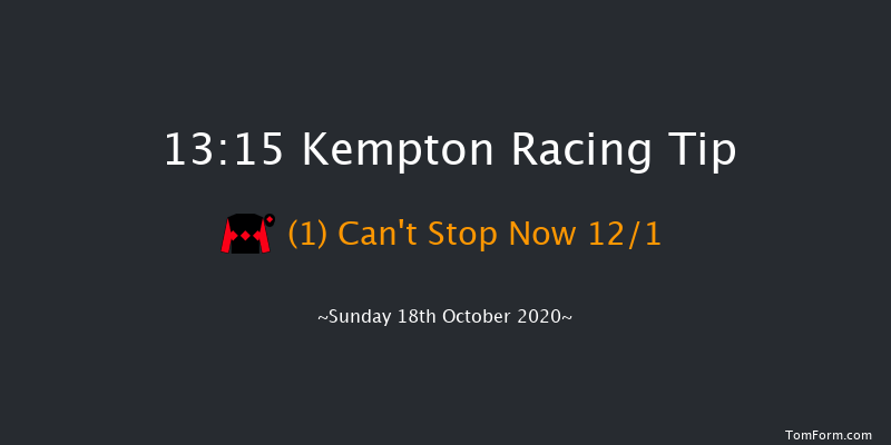 Racing TV Juvenile Hurdle (GBB Race) Kempton 13:15 Conditions Hurdle (Class 3) 16f Wed 14th Oct 2020