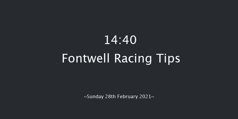Enjoy Champagne PIAFF Novices' Limited Handicap Chase (GBB Race) Fontwell 14:40 Handicap Chase (Class 3) 20f Thu 18th Feb 2021
