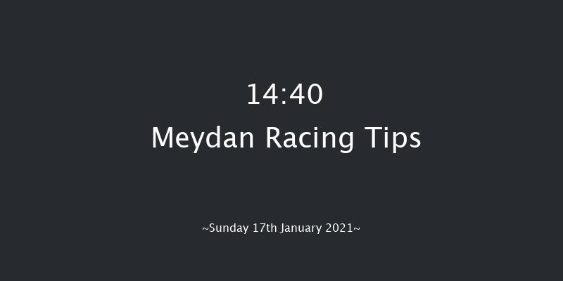 Meydan 14:40 1m 2f 11 ran Lincoln Navigator Handicap - Dirt Sat 16th Jan 2021