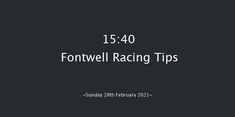 Champagne PIAFF Novices' Hurdle (GBB Race) Fontwell 15:40 Maiden Hurdle (Class 4) 19f Thu 18th Feb 2021