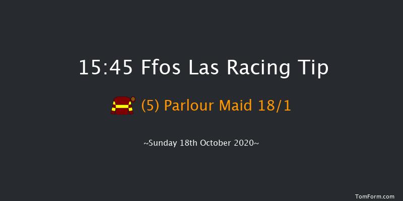 Yorton & Potter Group Stallions Conditional Jockeys' Handicap Chase Ffos Las 15:45 Handicap Chase (Class 4) 21f Thu 8th Oct 2020