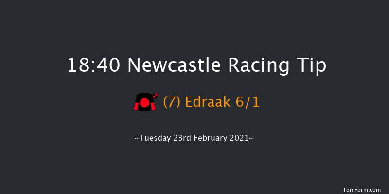 Bombardier British Hopped Amber Beer Handicap Newcastle 18:40 Handicap (Class 2) 7f Sat 20th Feb 2021